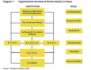 Org structure of tea industry in kenya