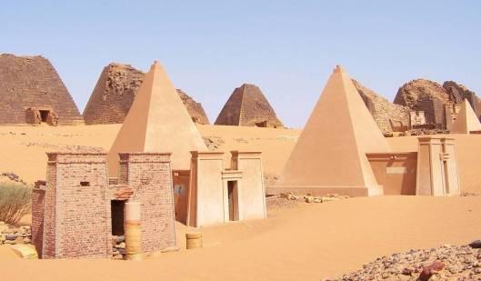 Sudan Meroe Pyramids-UNESCO